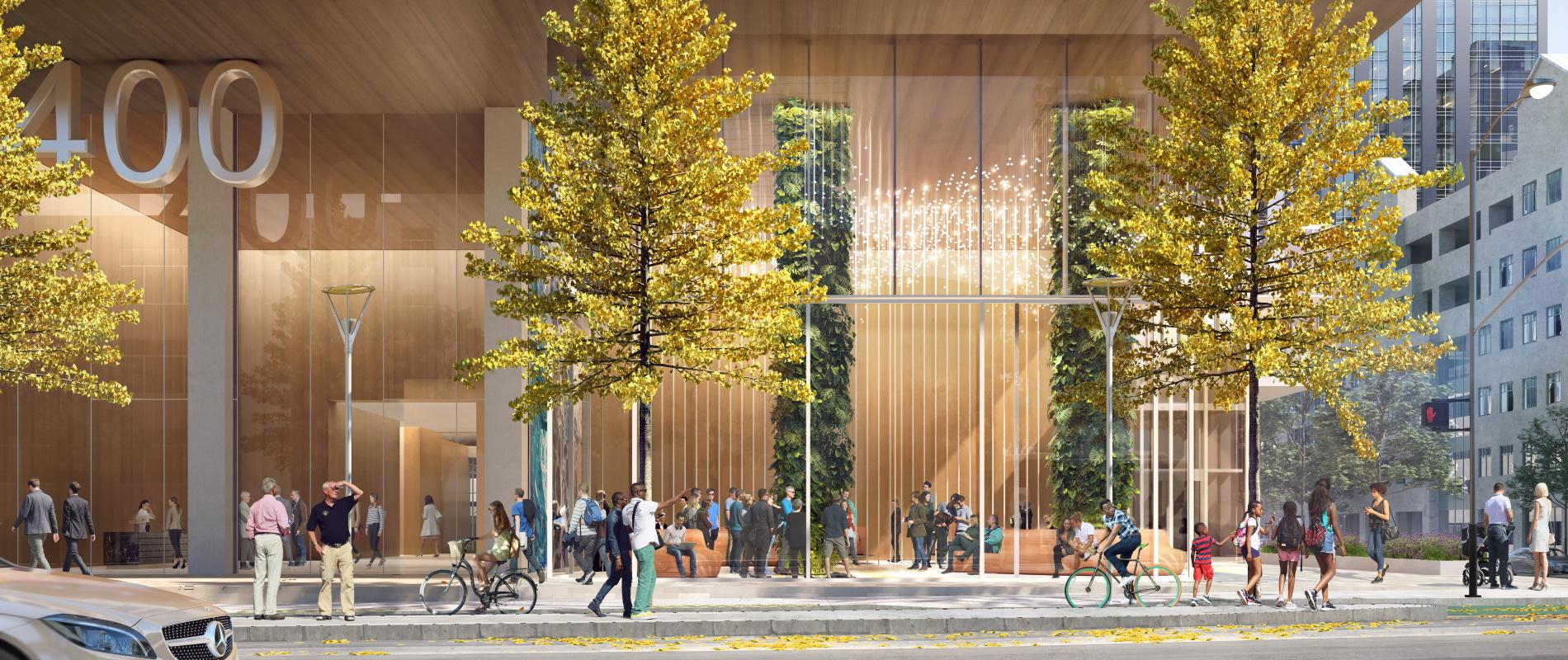 View of Proposed One Vassar